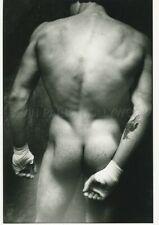 JAMES A. FOX NUDE MALE MASCULIN NU BOXE BOXING 1970s PHOTO ORIGINAL #126