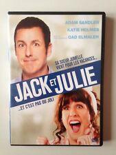 DVD JACK ET JULIE / ADAM SANDLER - KATIE HOLMES - GAD ELMALEH