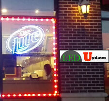 40ft Red STOREFRONT window LED LIGHT 5630 MODULE With UL Listed POWER