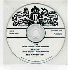 (FV600) The Madeleines, Alias / Pilot Light - DJ CD