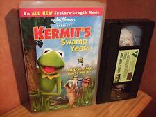 Kermit's Swamp Years - Rare  Big Box Vhs original