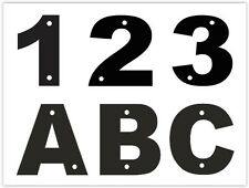 Acrylic Address Door Home House Garage Number/Letter Plate Plaque Sign