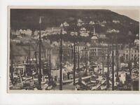 Bergen Fisketorvet Norway Vintage RP Postcard 126b