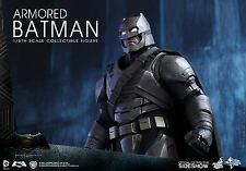 BATMAN VS SUPERMAN: DAWN OF JUSTIVE~ARMORED BATMAN~SIXTH SCALE FIGURE~HOT TOYS