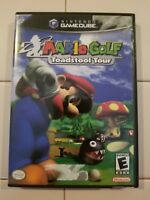 Mario Golf: Toadstool Tour Nintendo GameCube BLACK LABEL CIB Free shipping!