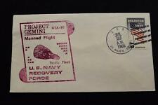 NAVAL SPACE COVER 1966 GEMINI GTA-10 RECOVERY SHIP USS DE HAVEN (DD-727) (6)