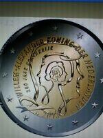 Pays bas 2euros neuf 2013 200ans royaute +cadeau