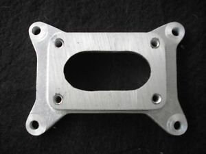 FORD HOLLEY 2 V to 4 BOLT SMALL BASE ROCHESTER CARB ADAPT HOT ROD RAT CA-15