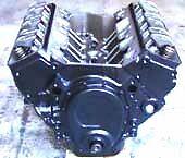 V6 4.3 reman long motor 12 bolt intake roller cam Merc Volvo OMC 12 m wrtny