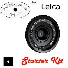 """Skink Pinhole Pancake Starter Kit """"Retro"""" modular lens swap apertures Leica M M6"""