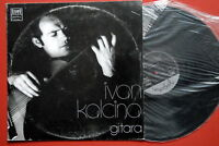IVAN KALCINA GUITAR CLASSICAL EXYUGOSLAV LP N/MINT