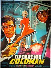 Affiche cinéma OPERATION GOLDMAN  - 120 x 160 cm