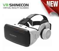 "Virtual Reality VR Shinecon 3D Glasses with Headset For 4.7""-6.1"" Smartphones"