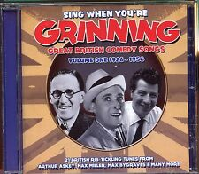 Sing When You're Grinning - Great British Comedy Songs / Vol 1 -1926-1956 - MINT