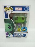 Funko Pop Marvel 147 She-Hulk Glow in the Dark Comikaze Exclusive #5