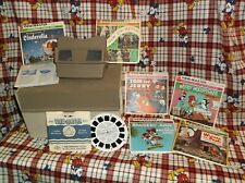 VINTAGE GAF VIEW MASTER CINDERELLA TOM & JERRY AND MORE REELS BOOKLETS BOX LOT
