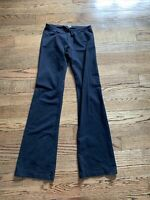 Hard Tail Black Stretch Active Pants Bootcut Size Large