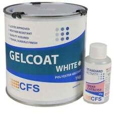 2kg Polyester white Gelcoat includes hardener