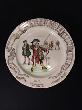 Royal Doulton Diversions of Uncle Toby Games Archery Plate