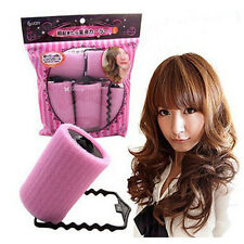 6Pcs Vintage Magic Sponge Foam Cushion Hair Styling Rollers Curlers Twist Too K;