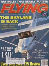 Flying Magazine (Aug 1997) (New Cessna 182, USAF 50 Years, Piper Cherokee 235)