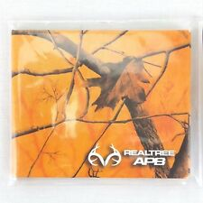 REALTREE CAMO WALLET Bi-Fold Slim Design Light Weight Hunting Orange TYVEK