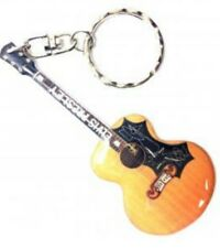 Elvis Presley Stainless Steel 10cm Guitar Key Ring