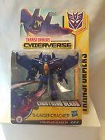 Hasbro Transformers Cyberverse Warrior Class Lightning Slash Thundercracker