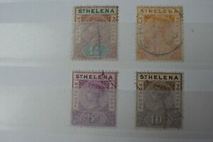 GB Stamps - St Helena - Small Collection - E16