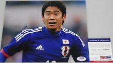 SHINJI KAGAWA Hand Signed Man Utd Japan 8'x10' Photo + PSA DNA COA X10576