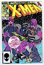 Marvel UNCANNY X-MEN #202 1986 NM Vintage Comic