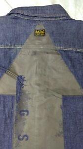 G Star RAW! Gr.XL 3301 Slim Shirt. Jeanshemd Rinsed.