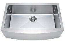 "NEW FRANKE Kinetic 33"" Apron Front Farm House Double Bowl Kitchen Sink Stainless"