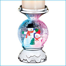 Musical Snowman Candle Holder, by Collections Etc