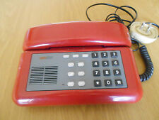 SIP Telefono da Tavolo ROSSO con Tastiera numerica Vintage Originale Collezione