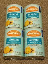 4 MANISCHEWITZ ALMOND MACAROONS 10 OZ REAL ALMONDS & CHEWY COCONUT COOKIE KOSHER