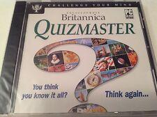 ENCYCLOPEDIA BRITANNICA QUIZMASTER PC Challenge Mind BRAND NEW