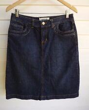 Sussan Women's Blue Jean Skirt - Size 10