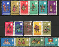 Gilbert & Ellice Is 1968 QEII Decimal Currency set of mint stamps to $2 MNH