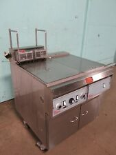 """PITCO FRIALATOR"" H.D. COMMERCIAL ELECTRIC FRYER,w/AUTO LIFT & FILTRATION SYSTEM"