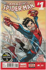 Amazing Spider-Man #1 VF+ 2014 Marvel Comics 1st Cindy Moon Silk appearance app