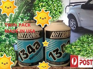 """**TWIN PACK 2 CANS**NATIONAL"""" R134a  AUSSIE BATTLER PRICES SAVE THE DOLLARS****"""