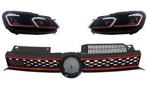 Griglia per VW Golf 6 VI 2008-2012 LED Fari Dinamico Girando Luci GTI Look