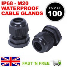 Glándula Wiska Impermeable 20mm Cable para 2.5-4mm PLANO DOBLE Y TIERRA T/&E Cables