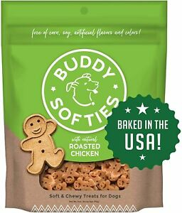 Buddy Biscuits, Soft & Chewy Treats for Small & Large Dogs, Made in USA, 6oz