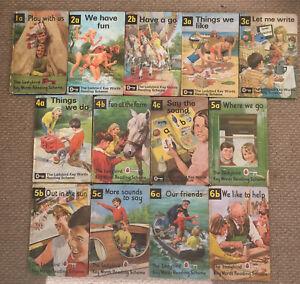 13 Vintage Ladybird Key Words Reading Scheme Books Peter And Jane Matt Board.