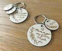 Personalised Gifts For Her Mummy Nanny Auntie Nana Grandma Granny Keyring Gifts