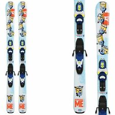 Rossignol kids MINIONS Kid-X w/ Look Kid-X 4 B76: Ski & Binding Kit - 104cm