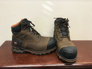 """Men's Timberland Pro Boondock 6"""" Work Boots Size 9W."""