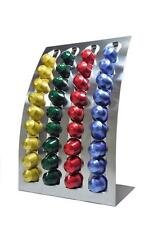 Nespresso Coffee Capsules Pod Holder Stand/dispenser Stainless Steel